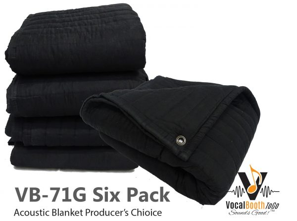 Acoustic Blanket producers choice VB71G for soundproofing