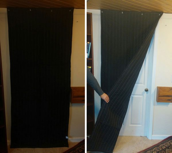 Acoustic blankets for Door covers